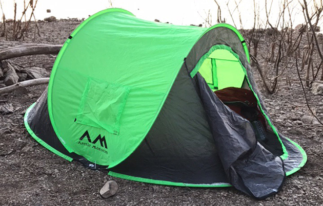 Artic Monsoon pop up tent