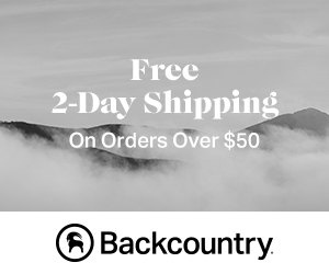 Backcountry promo