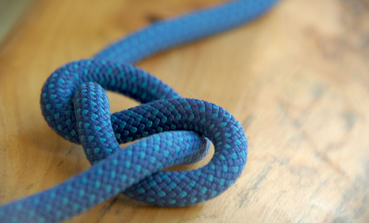 Figure of 8 camping knots