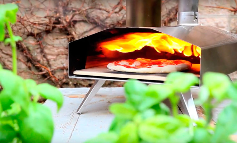 Uuni pizza oven glamping accessories