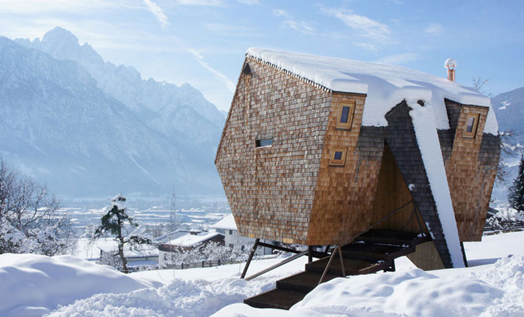 Unusual Winter Cabins Cool Of The Wild