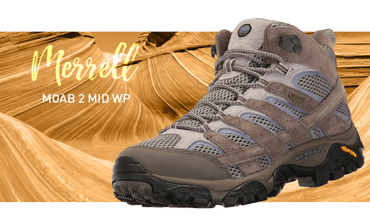 Merrell Moab 2 Mid WP hiking boots