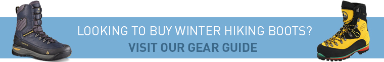 winter hiking boots gear guide