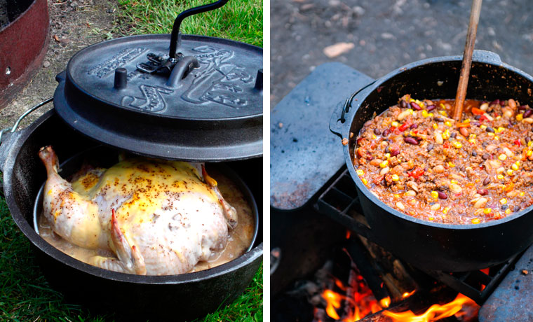 How to Cook with a Dutch Ovens When Camping - Cool of the Wild