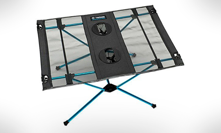 Helinox camping table - cool camping furniture