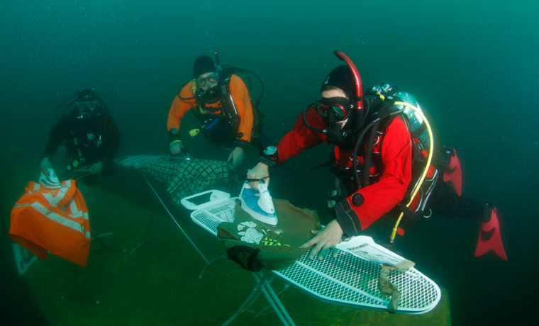 The Weird And Wonderful World Of Extreme Ironing Cool Of