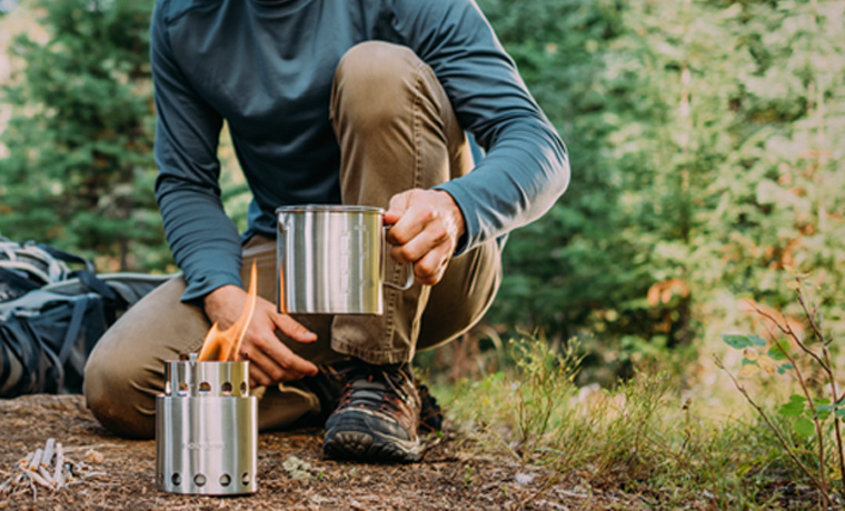 Best backpacking stoves SoloStove