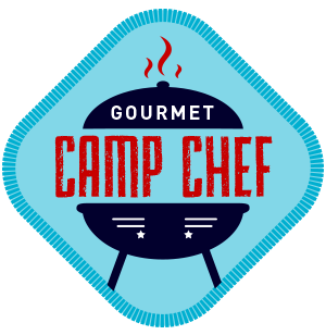 camping badge - gourmet camp chef