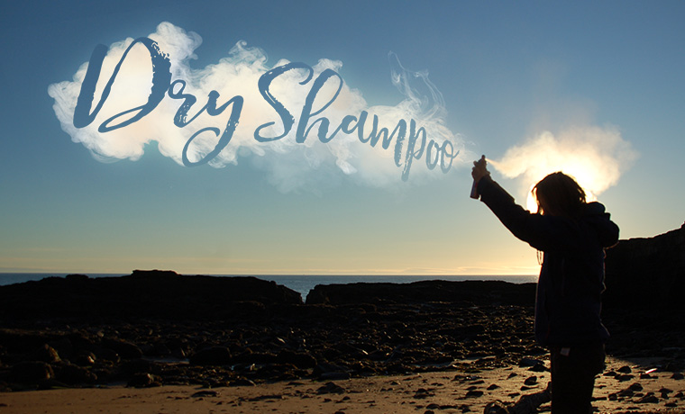 dry shampoo for camping