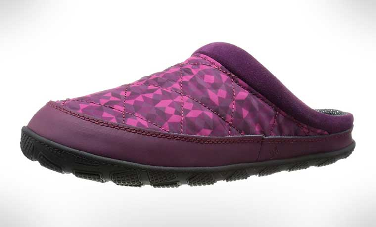 Columbia slippers for camping