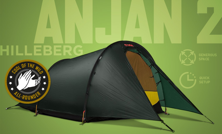 Hilleberg Anjan 2 man backpacking tent & Best Backpacking Tents in 2018 - Cool of the Wild