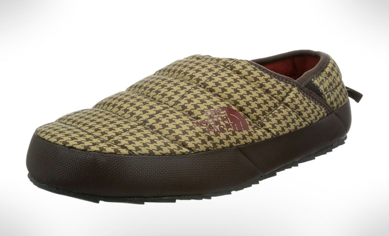 The North Face Thermoball Mule Traction II slipper for camping