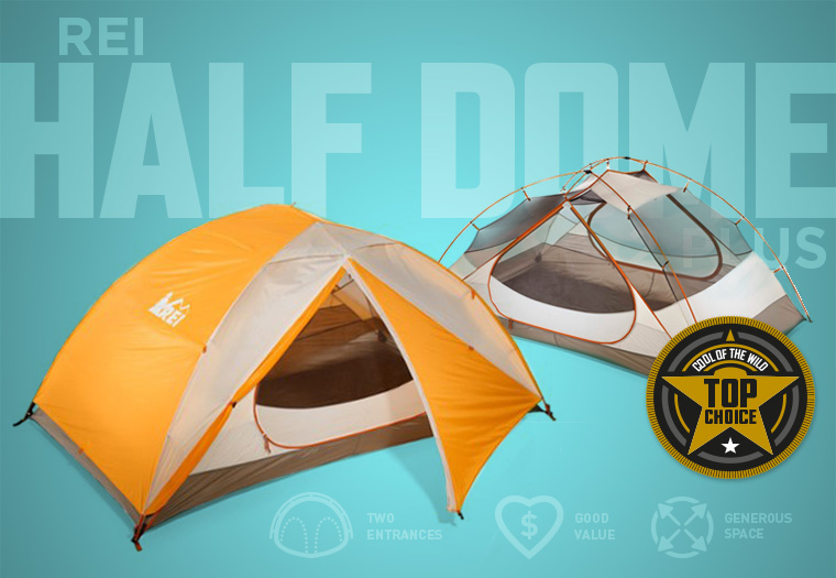 REI Half Dome 2 Plus backpackers tent & Best Backpacking Tents in 2018 - Cool of the Wild