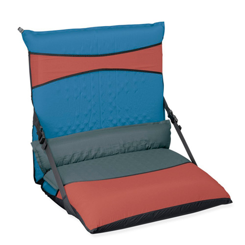 Sleeping pad chair kit