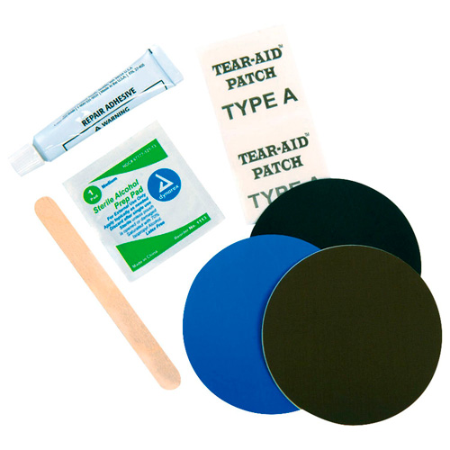 Sleeping pad repair kit