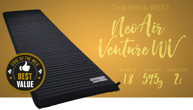 Thermarest NeoAir Venture WV Award