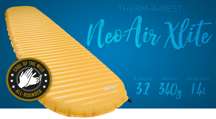 Thermarest NeoAir Xlite Award