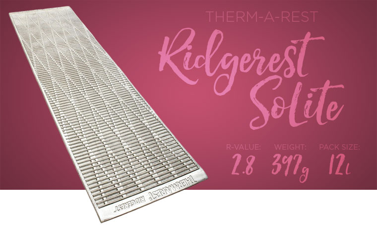 Thermarest Ridgerest SoLite
