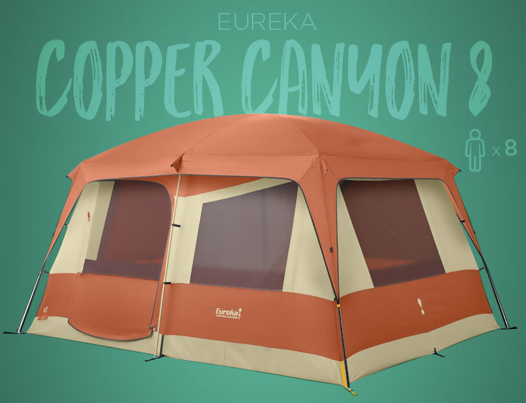 Eureka Copper Canyon Family C&ing Tent & Best Family Camping Tents in 2018 - Cool of the Wild
