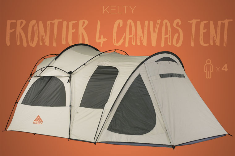 Kelty Frontier Family C&ing Tent & Best Family Camping Tents in 2018 - Cool of the Wild