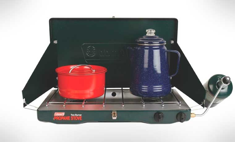 Coleman double gas stove