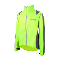 Hi-vis jacket for winter cycling