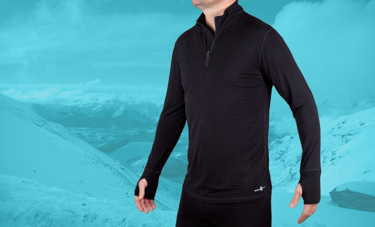 Bambool Thermics long sleeve base layer