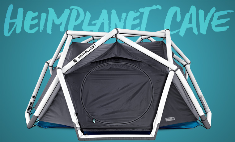 Heimplanet Cave inflatable tent