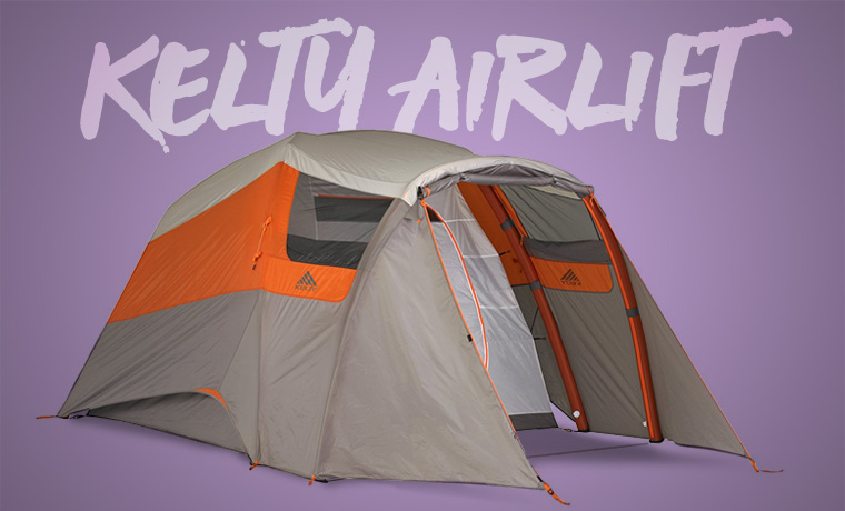 Kelty Airlift inflatable tent