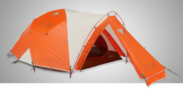 Mountain Hardware Trango 2 4 season tent & Cold Weather Tents: The Best Winter Tents in 2018 - Cool of the Wild