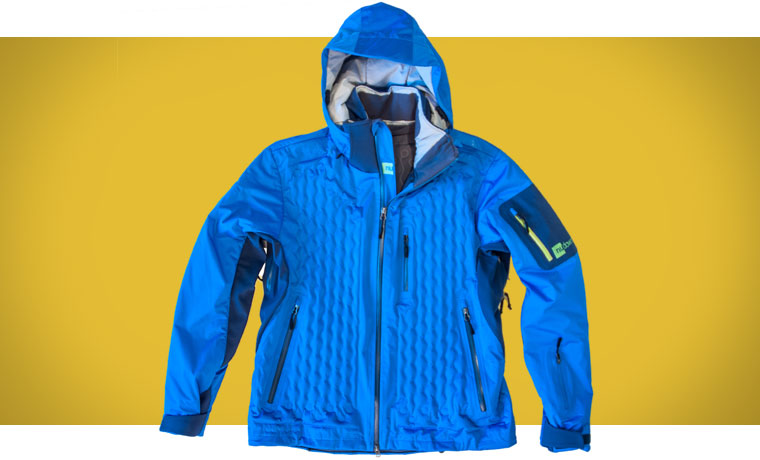 Nudown inflatable ski jacket