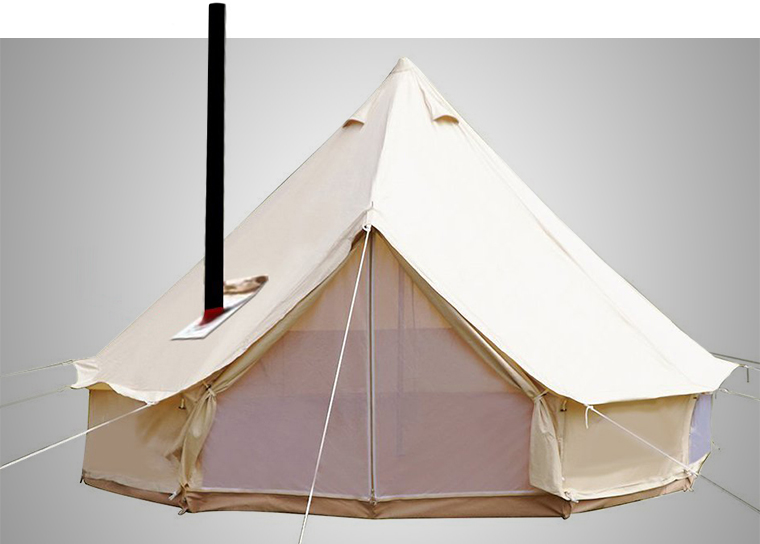 Playdo 4-Season Bell Tent & Cold Weather Tents: The Best Winter Tents in 2018 - Cool of the Wild