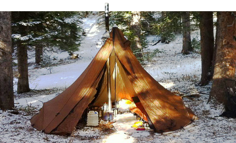 Seek Outside Tipi with tent stove & Cold Weather Tents: The Best Winter Tents in 2018 - Cool of the Wild