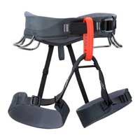 Climbing harness for climbing