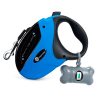 Extendable dog leash for backpacking