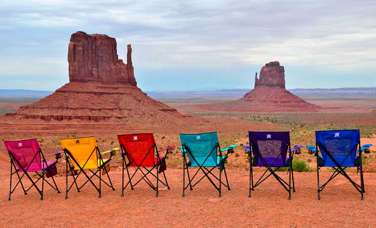 The best camping chairs in the dessert