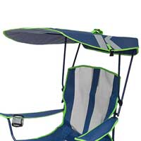 Canopy of camping chair