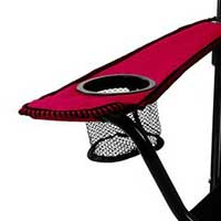 Drink holder of camping chair