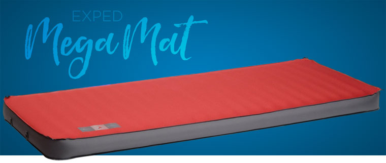 Exped Mega Mat air mattress for camping