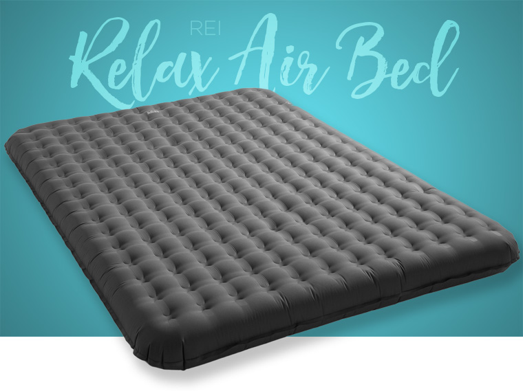 REI Relax Air Bed camping mattress