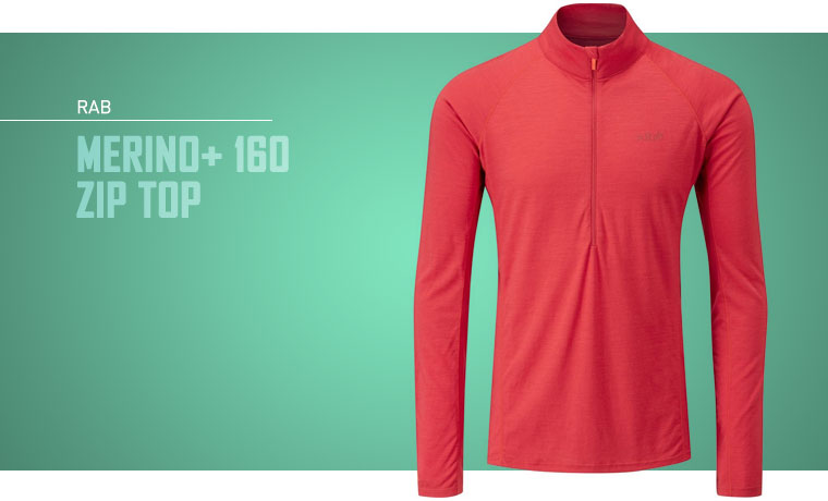Rab Merino+ 160 Zip Base Layer