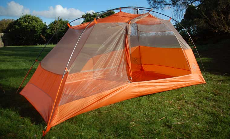 Inner tent with door open & Review: Big Agnes Copper Spur HV UL2 Backpacking Tent - Cool of ...