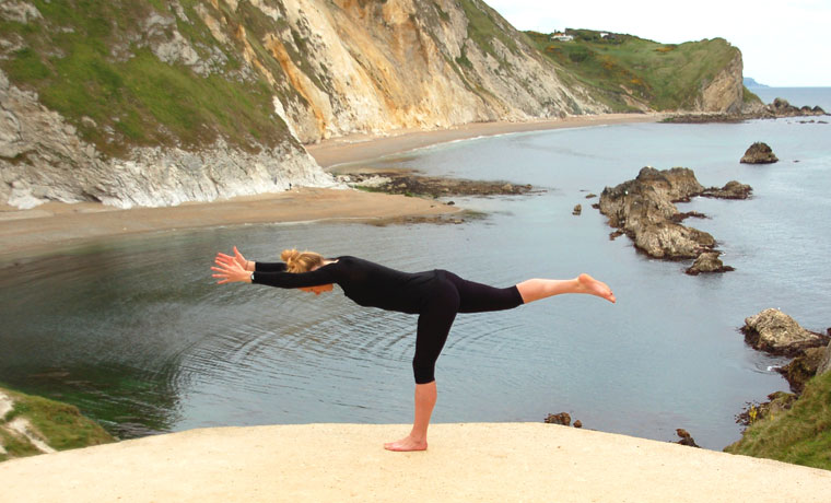 Warrior 3 yoga for surfing