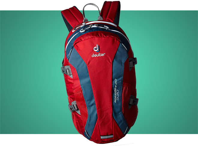 Red Deuter SpeedLite 20 snowsports daypack