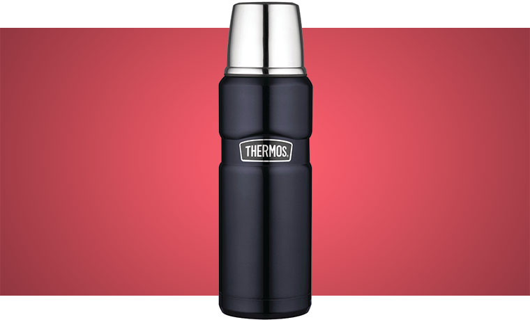 Themos Stainless King 16oz Compact Bottle