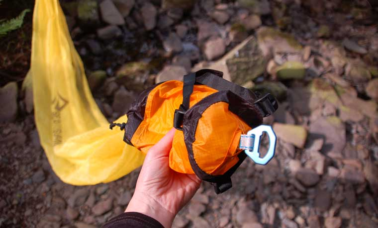 Ultralight hammock stuff sack