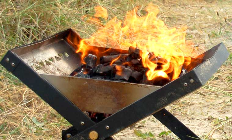 Wind guard of Primus Kamoto OpenFire Pit