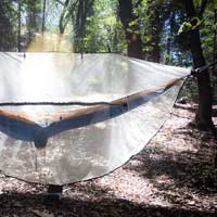 Bug net for hammock