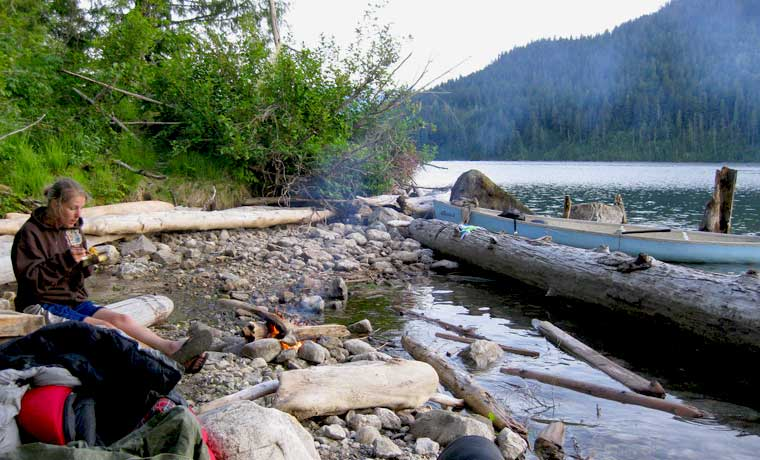 Wild Camping in Canada