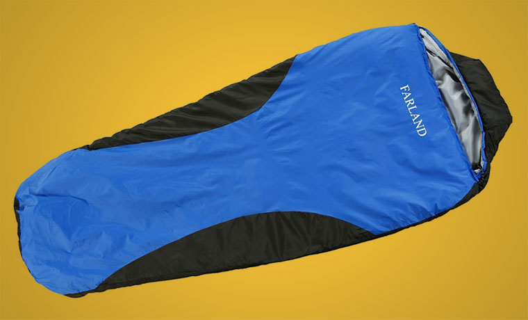 Different types of sleeping bags